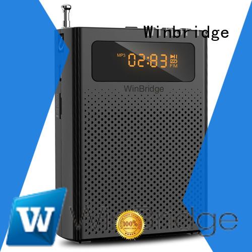 portable Custom headset voice enhancer rechargeable Winbridge