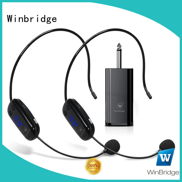 Wholesale humanized appearance wireless microphone Winbridge Brand