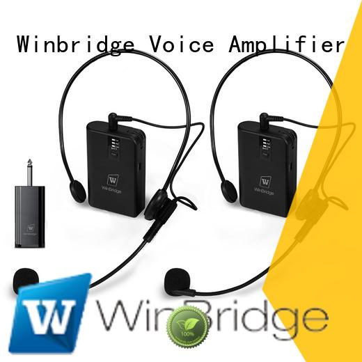 system mic wireless receiver Winbridge company