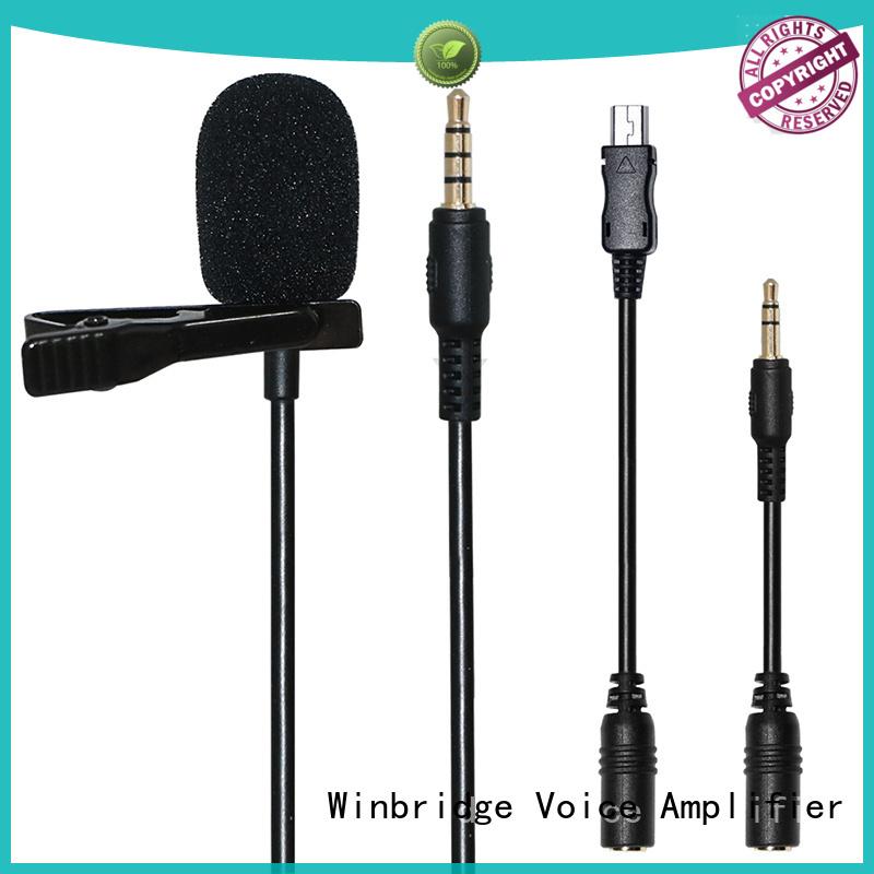 Custom system easy to use wireless microphone Winbridge winbridge