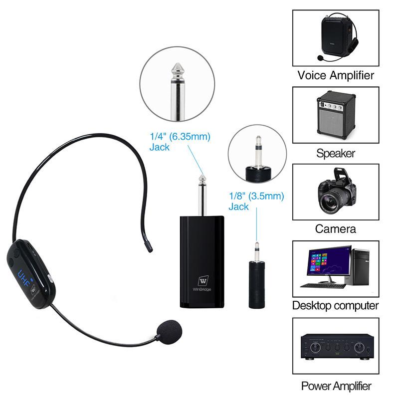 Hot humanized appearance mic wireless recording Winbridge Brand