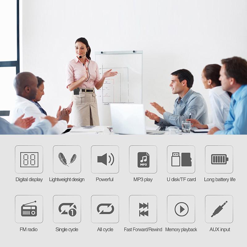 Winbridge Brand portable waterproof wireless voice enhancer