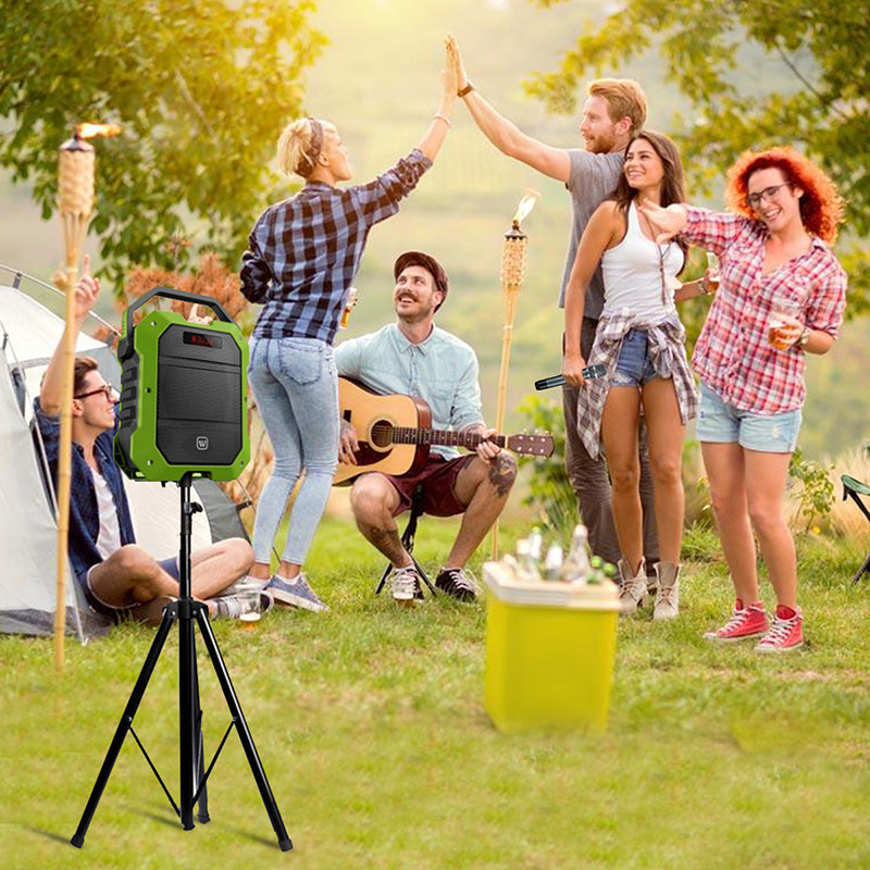 outdoor ergonomic multifunctional karaoke speaker wireless Winbridge