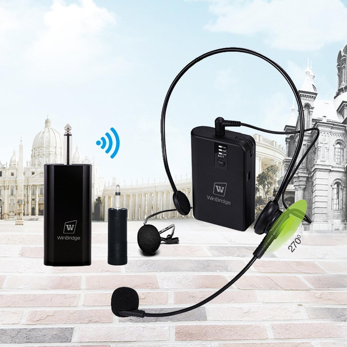 system receiver Winbridge Brand mic wireless