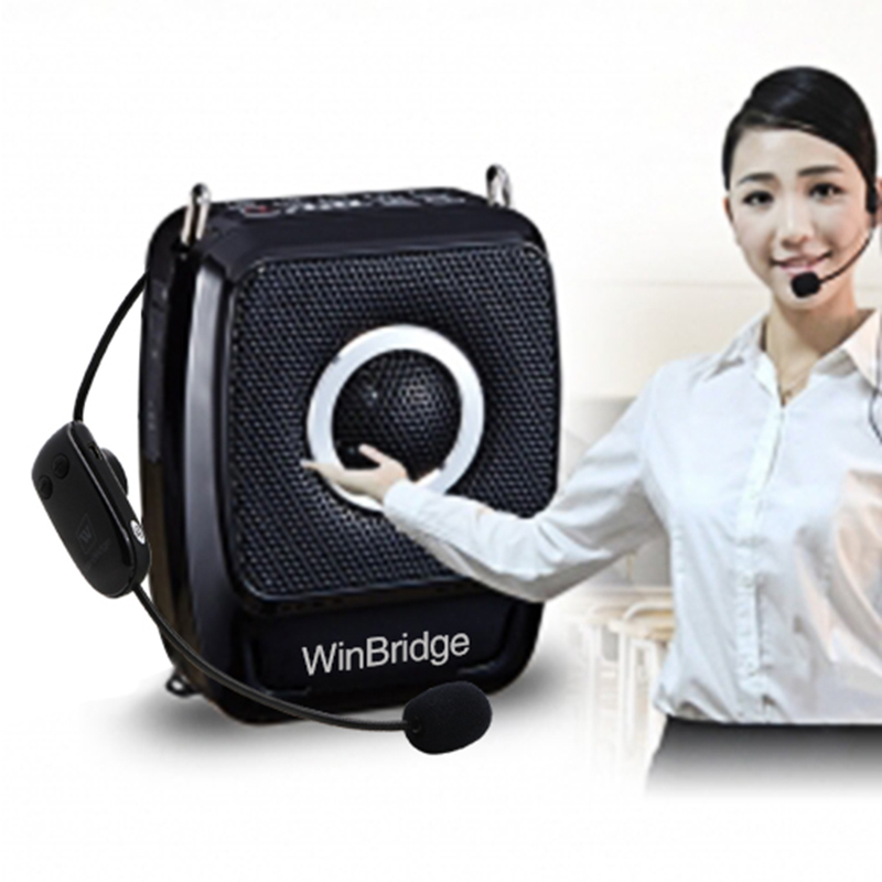 teacher teacher voice amplifier portable microphone speaker mini headset Winbridge Brand