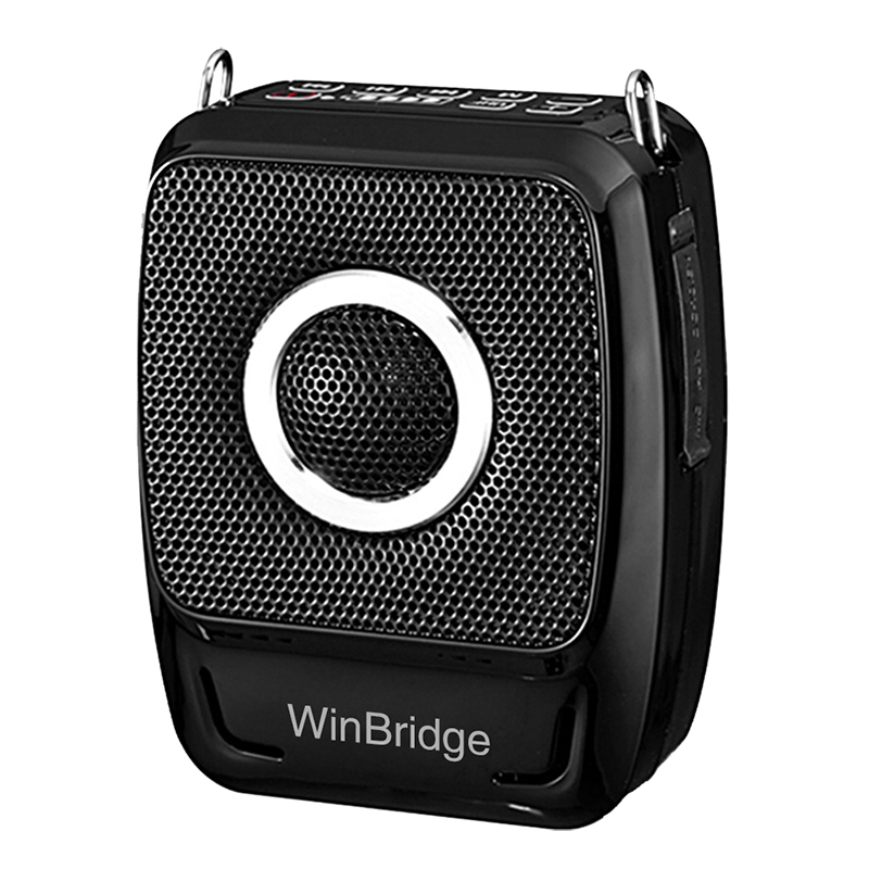 Hot teacher voice amplifier portable microphone speaker rechargeable Winbridge Brand