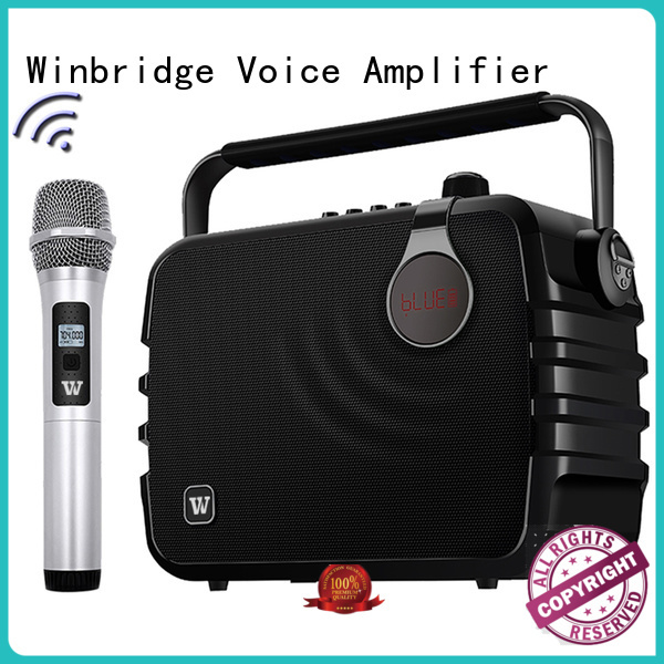 speaker karaoke outdoor comfortable remote control Winbridge Brand karaoke speaker