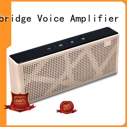 mini panel cheap bluetooth speakers touch Winbridge company