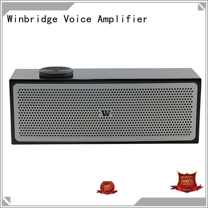 hands-free call wireless winbridge OEM bluetooth speaker Winbridge