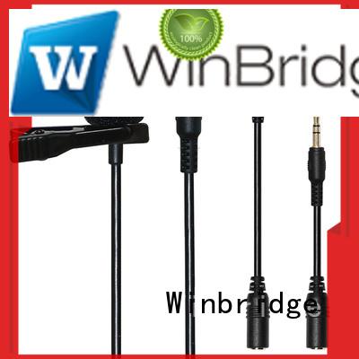 receiver video recording OEM wireless microphone Winbridge