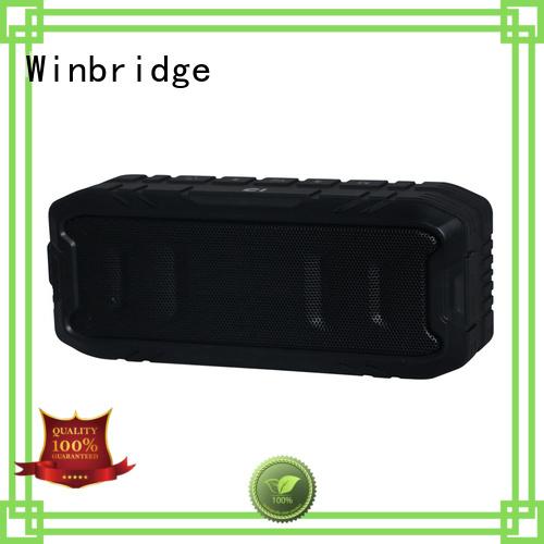 Quality Winbridge Brand hands-free call panel bluetooth speaker