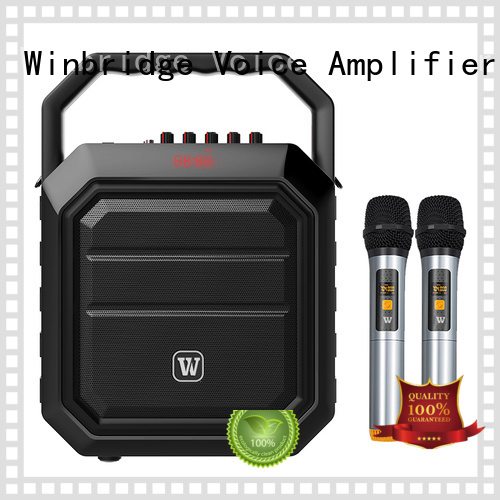 winbridge portable comfortable karaoke speaker Winbridge Brand