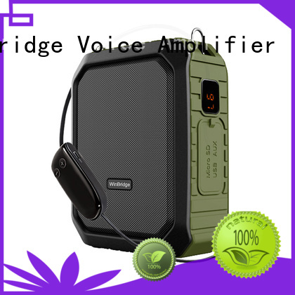 headset portable rechargeable Winbridge Brand teacher voice amplifier portable microphone speaker factory