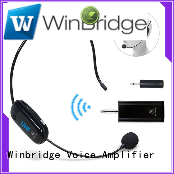 receiver winbridge wireless microphone headset Winbridge