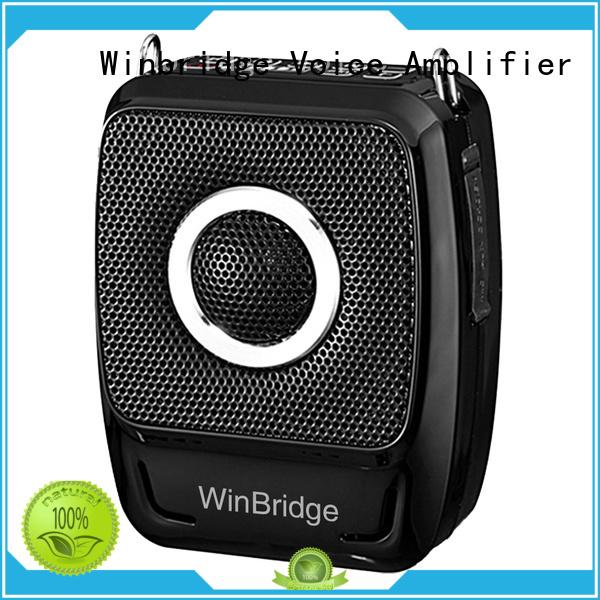 teacher voice amplifier portable microphone speaker bluetooth voice enhancer Winbridge Brand