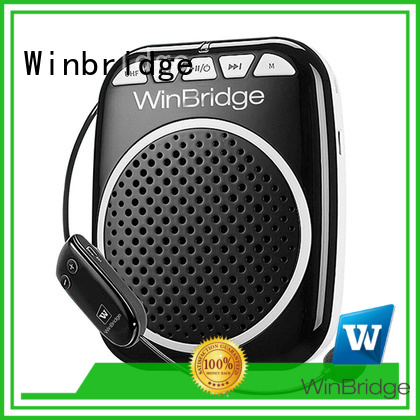 bluetooth rechargeable voice enhancer microphone Winbridge