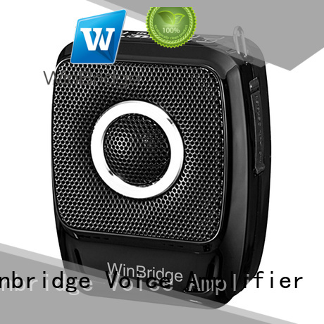 Winbridge Brand waterproof teacher voice amplifier portable microphone speaker mini supplier