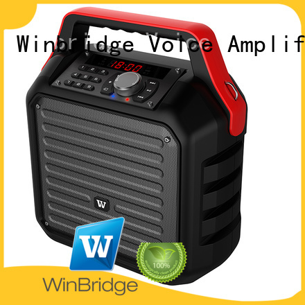 Winbridge Brand ergonomic winbridge comfortable speaker karaoke remote control