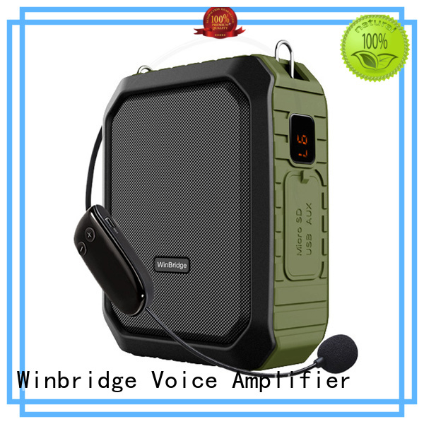 Winbridge Brand microphone portable teacher teacher voice amplifier portable microphone speaker