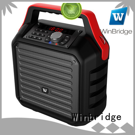 Winbridge Brand remote control speaker karaoke microphone supplier