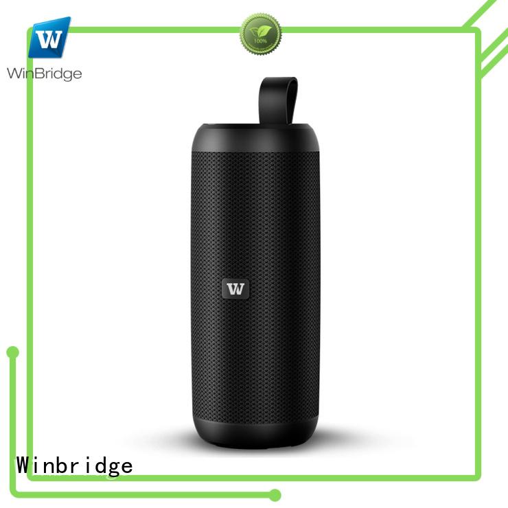 Winbridge Brand touch waterproof cheap bluetooth speakers panel supplier