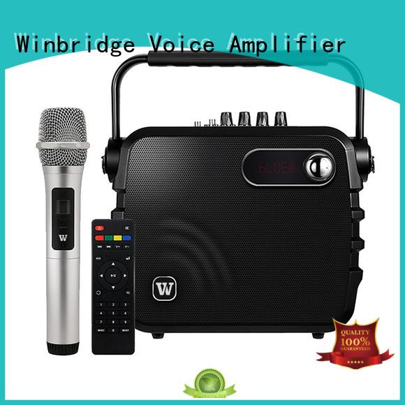 speaker karaoke microphone ergonomic Warranty Winbridge