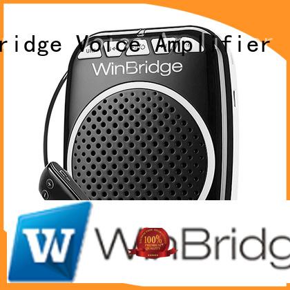 Winbridge Brand winbridge wireless wired teacher voice amplifier portable microphone speaker bluetooth