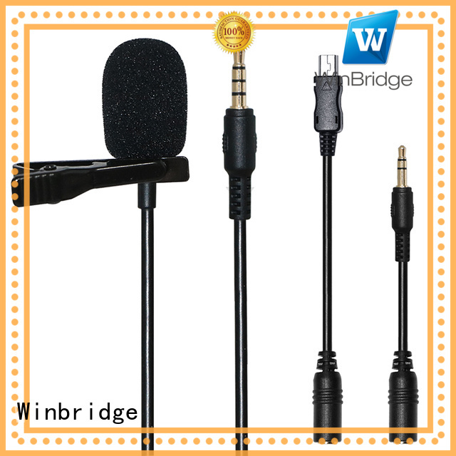 Hot wireless microphone wired Winbridge Brand