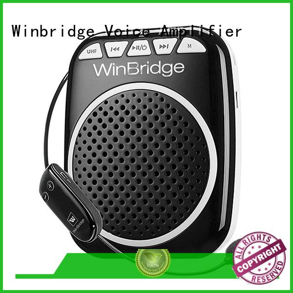 waterproof rechargeable bluetooth microphone teacher voice amplifier portable microphone speaker Winbridge Brand