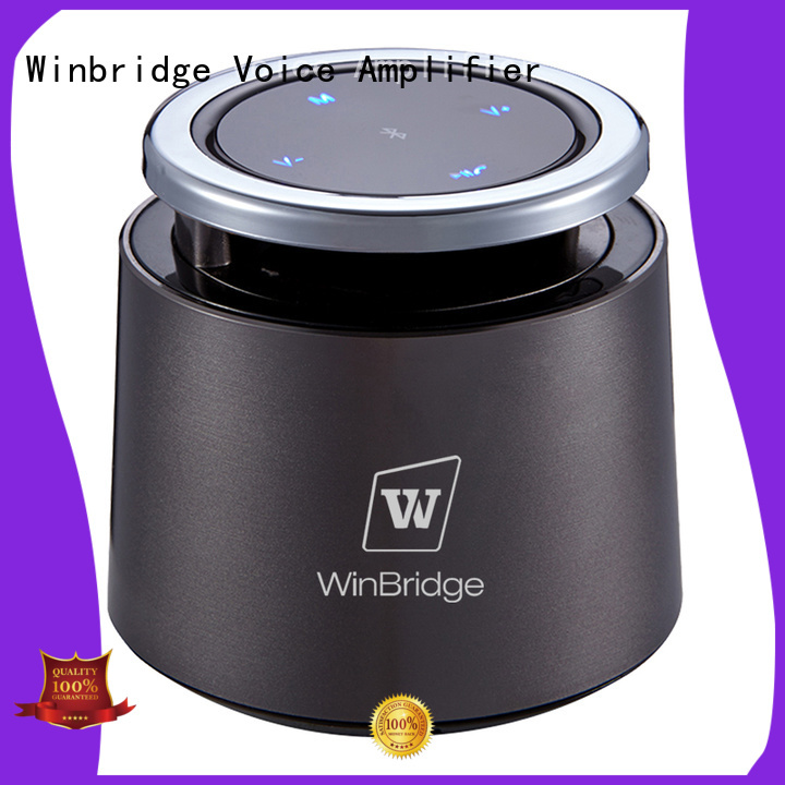 subwoofer mini pocket panel Winbridge Brand bluetooth speaker supplier