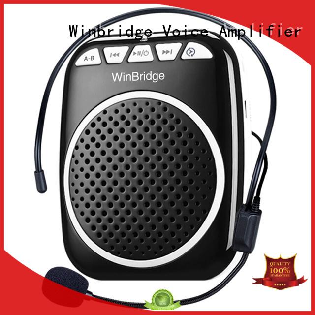 teacher voice amplifier portable microphone speaker portable wireless wired Warranty Winbridge