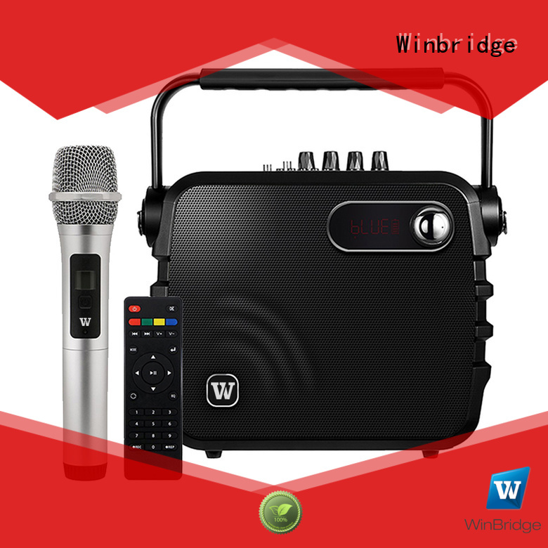 Quality Winbridge Brand stylish outdoor karaoke speaker