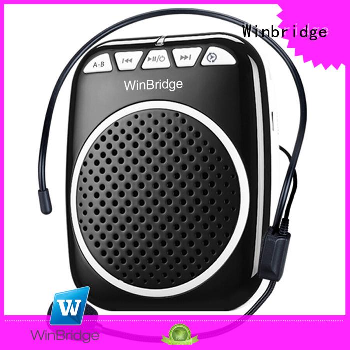Quality Winbridge Brand microphone voice enhancer