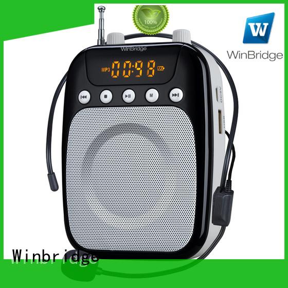 teacher voice amplifier portable microphone speaker headset microphone mini Winbridge Brand