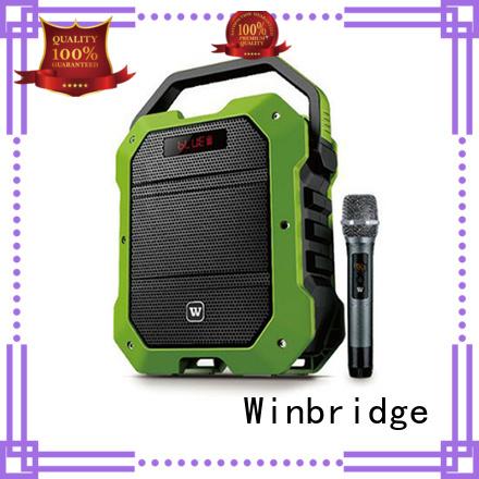 Winbridge Brand ergonomic multifunction speaker karaoke