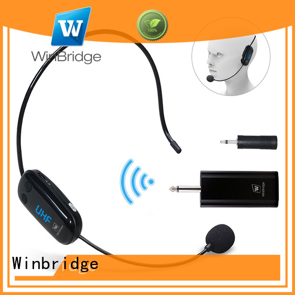 mic wireless winbridge lapel headset Warranty Winbridge