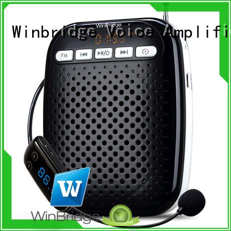 Winbridge Brand headset waterproof custom teacher voice amplifier portable microphone speaker