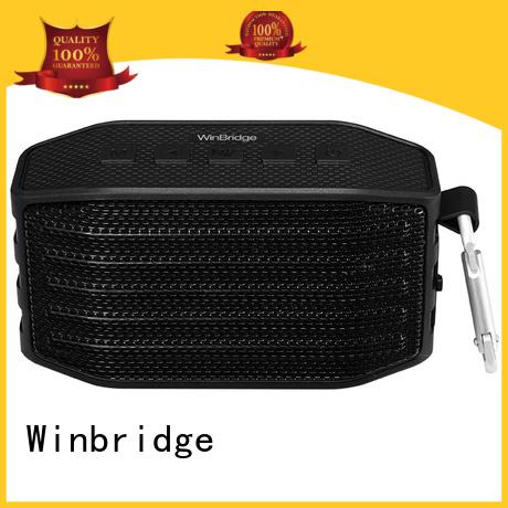 portable waterproof cheap bluetooth speakers Winbridge manufacture