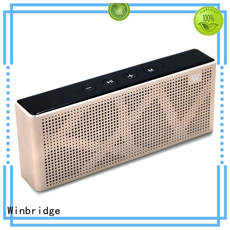 cheap bluetooth speakers subwoofer pocket touch Winbridge Brand bluetooth speaker