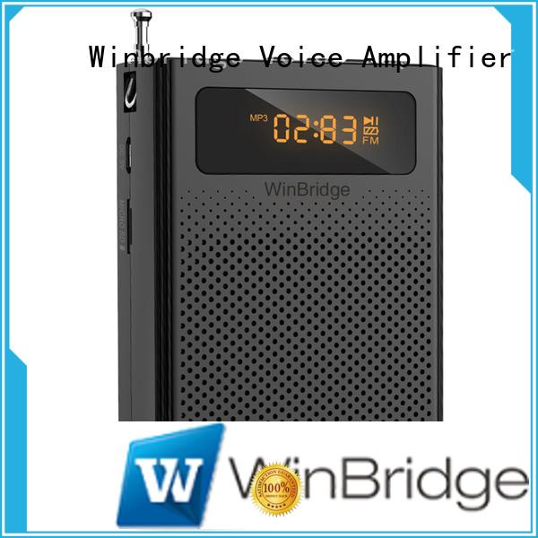 wireless wired headset Winbridge Brand teacher voice amplifier portable microphone speaker manufacture