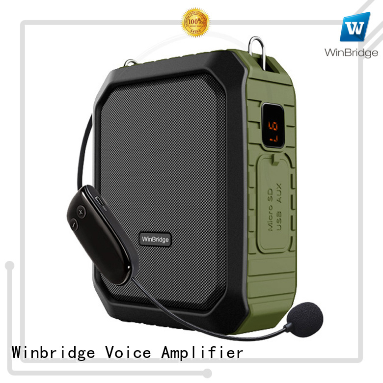 Winbridge Brand winbridge voice enhancer rechargeable factory