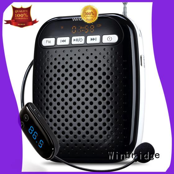 Winbridge Brand headset teacher voice amplifier portable microphone speaker wired supplier