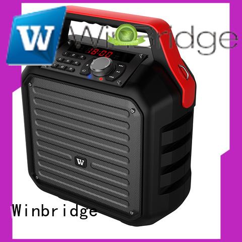 multifunction multifunctional karaoke speaker winbridge Winbridge company