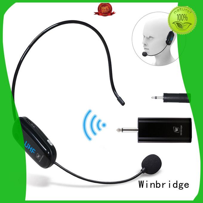 mic wireless winbridge recording humanized appearance Warranty Winbridge