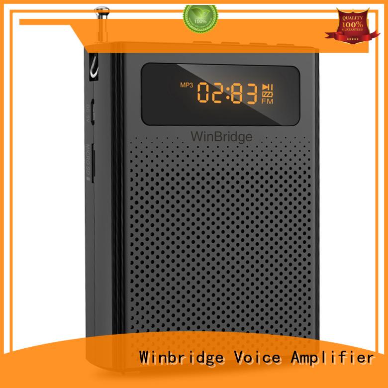 Winbridge Brand bluetooth rechargeable voice enhancer wireless factory