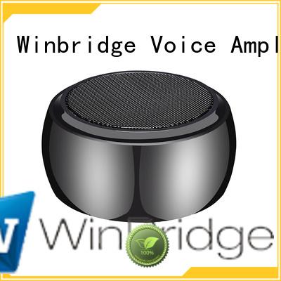 subwoofer portable bluetooth speaker mini hands-free call Winbridge company