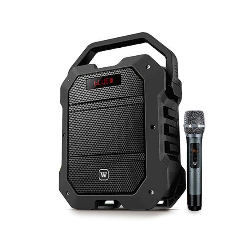 Winbridge K10 Multifunction 80 Watt UHF Wireless Karaoke Speaker with Microphone