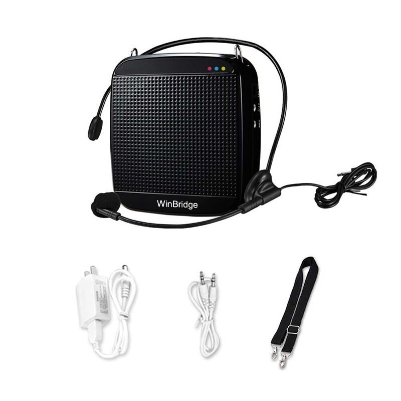 teacher voice amplifier portable microphone speaker mini headset voice enhancer wireless company