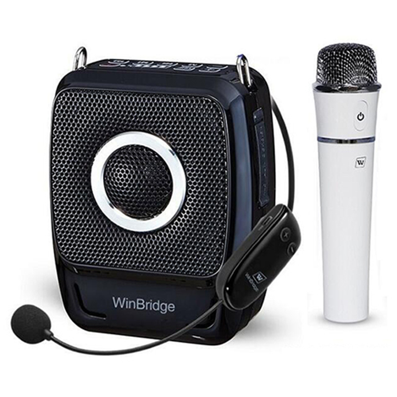 Winbridge WB92 PRO 25Watt Voice Amplifier with UHF Wireless Microphone