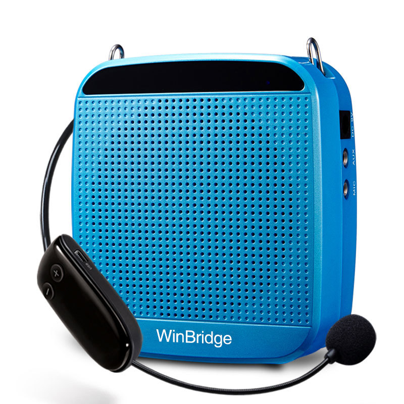 Custom portable rechargeable voice enhancer Winbridge bluetooth